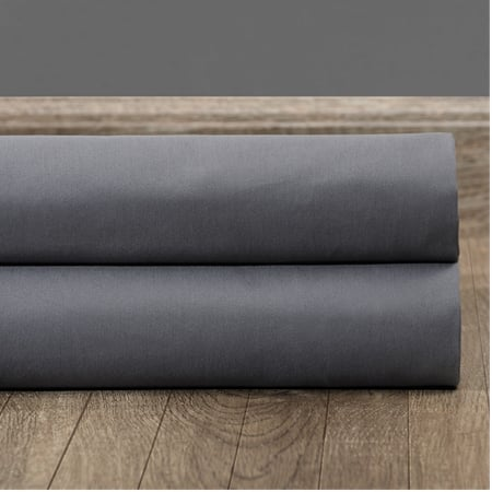 Business Gray Solid Cotton Swatch