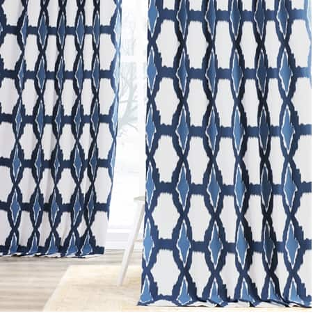 Sorong Royal Printed Cotton Curtain