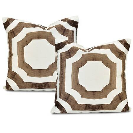 Mecca Printed Cotton Cushion Covers - PAIR