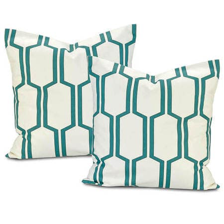 Tide Sands Printed Cotton Cushion Covers - Pair