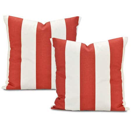 Cabana Spice Printed Cotton Cushion Covers - Pair