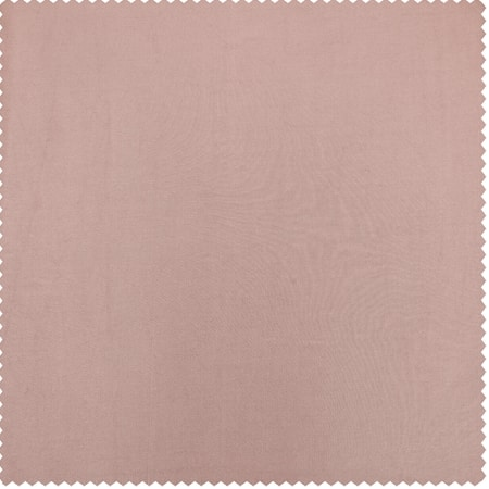 Salmon Rose Faux Silk Taffeta Fabric