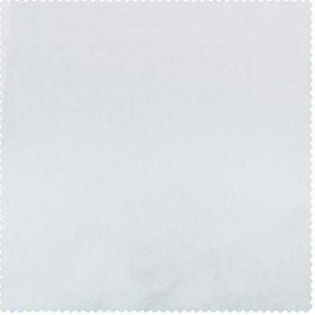 White Faux Silk Taffeta Fabric
