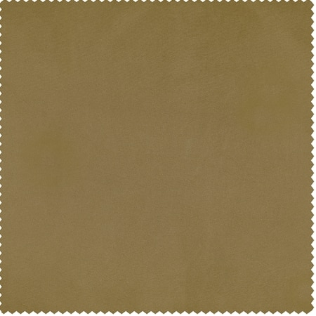 Golden Spice Faux Silk Taffeta Swatch