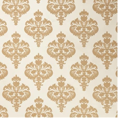 Beatrice Champagne Beige Designer Flocked Fabric