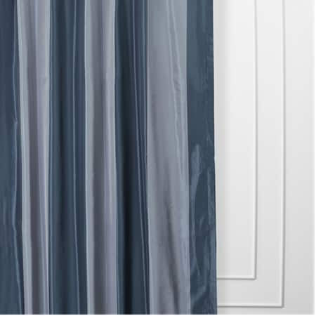 Wimpole Faux Silk Stripe Curtain