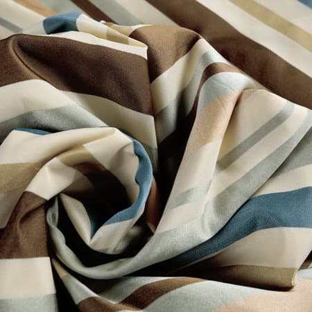 Woodcroft Luxury Faux Silk Stripe Fabric