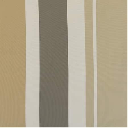 Norfolk Taupe & Gold Designer Striped Faux Silk Swatch