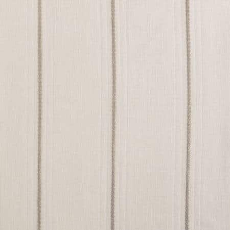 Aruba Gold Striped Linen Sheer Fabric