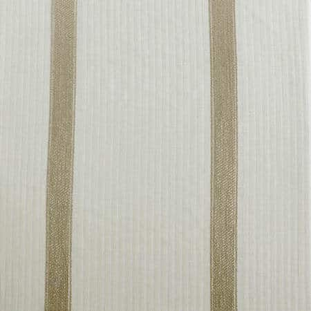 Antigua Gold Striped Linen Sheer Fabric