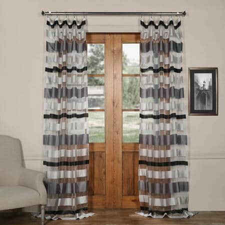 faux bedroom grommet silk kitchen curtains drapes com solid