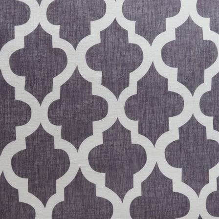 Birmingham Mulberry Printed Faux Linen Sheer Swatch