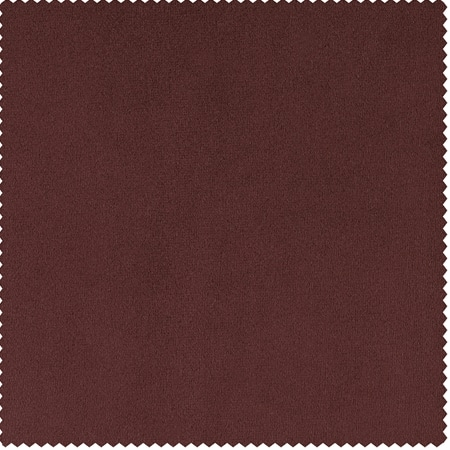 Signature Crimson Rust Blackout Velvet Swatch