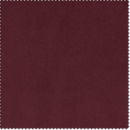 Signature Moroccan Red Blackout Velvet Swatch