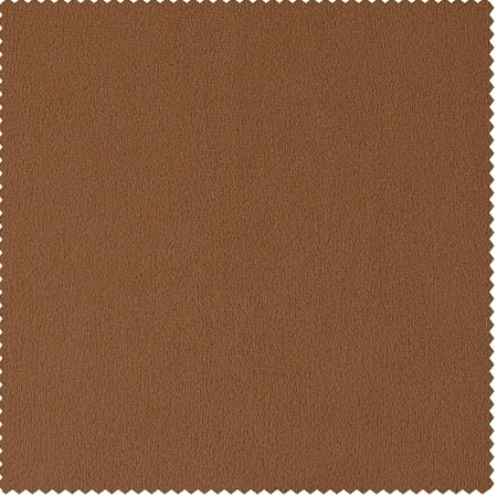 Signature Burnt Pumpkin Velvet Fabric