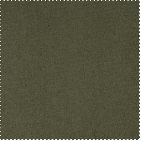 Signature Hunter Green Velvet Fabric