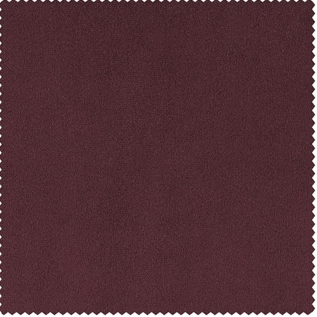 Signature Burgundy Velvet Fabric
