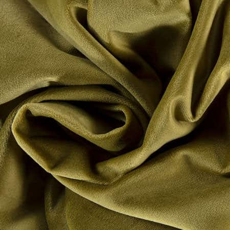 Retro Green Heritage Plush Velvet Fabric