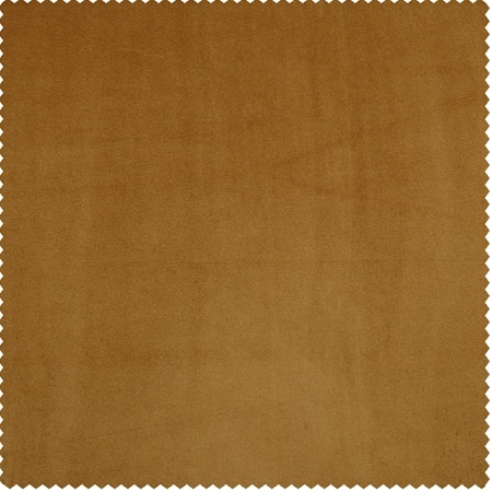 Spiced Rum Heritage Plush Velvet Fabric