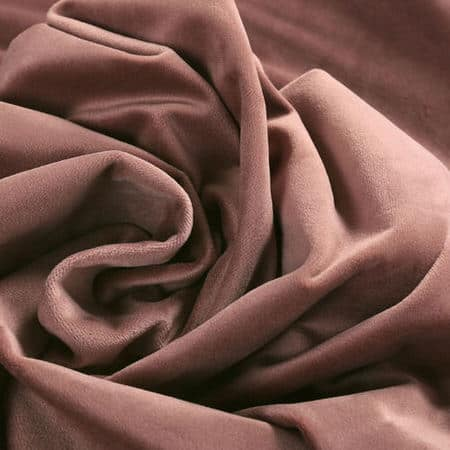 Wild Rose Heritage Plush Velvet Fabric
