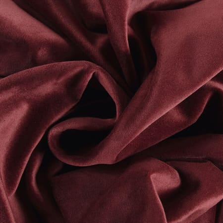Dark Merlot Heritage Plush Velvet Fabric