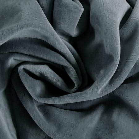 London Blue Heritage Plush Velvet Fabric