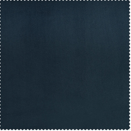 Avalon Blue Heritage Plush Velvet Fabric