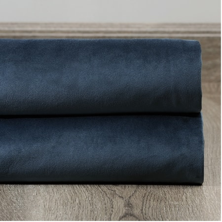 Avalon Blue Plush Velvet Swatch