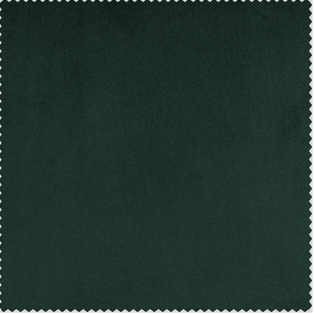 Forestry Green Heritage Plush Velvet Fabric