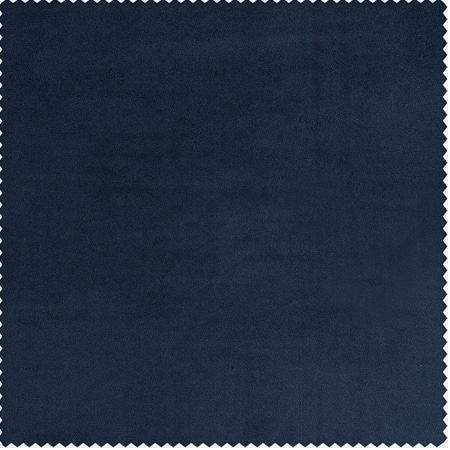Eternal Blue Heritage Plush Velvet Fabric