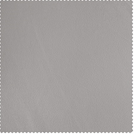 City Grey Heritage Plush Velvet Fabric