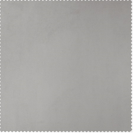 City Grey Heritage Plush Velvet Swatch