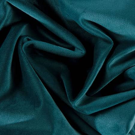 Deep Sea Teal Heritage Plush Velvet Fabric