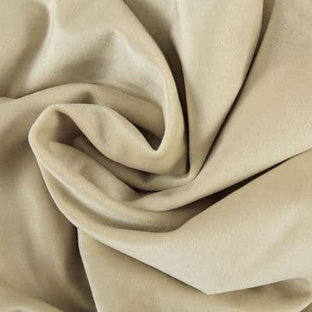 Western Tan Heritage Plush Velvet Fabric