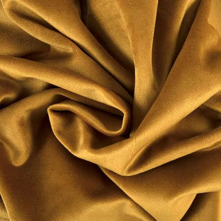 Retro Gold Heritage Plush Velvet Fabric