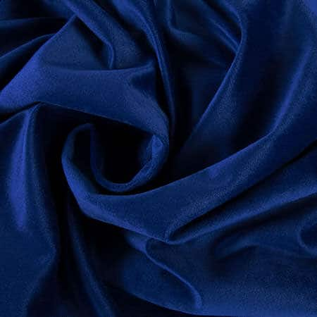 Pisces Blue Heritage Plush Velvet Fabric