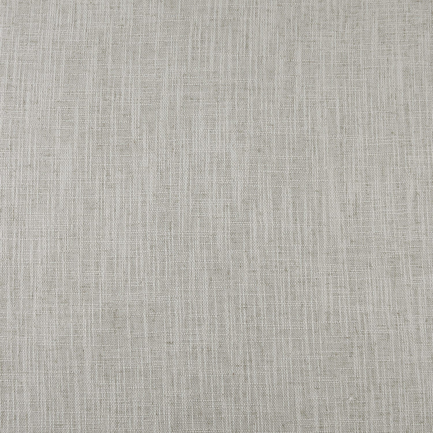 Bliss White Belgian Heavy Faux Linen Swatch