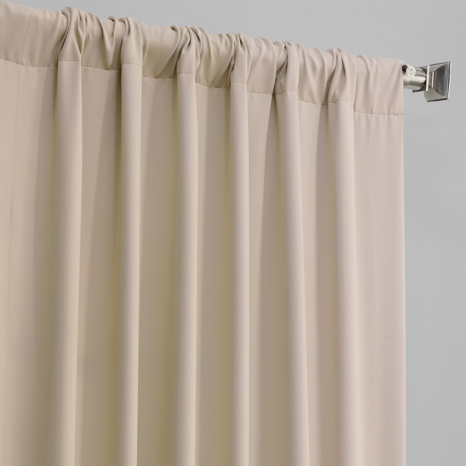 Eggnog Pole Pocket Blackout Room Darkening Curtain