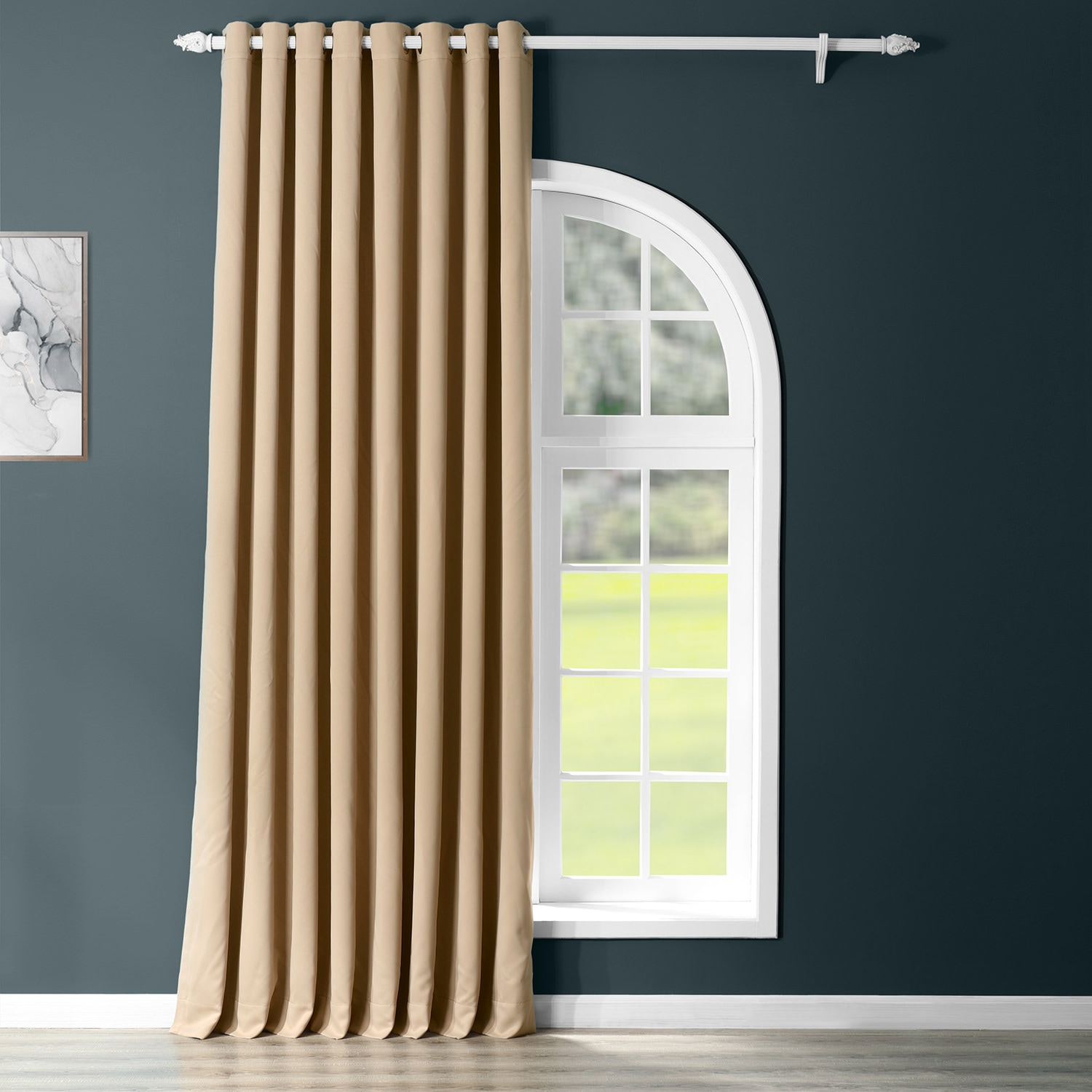 Biscotti Grommet Extra Wide Blackout Curtain