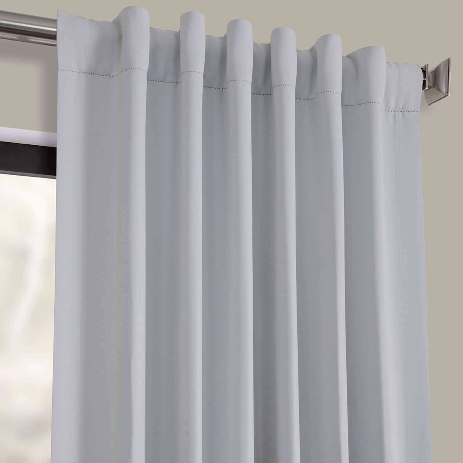 Arctic Grey Blackout Room Darkening Curtain