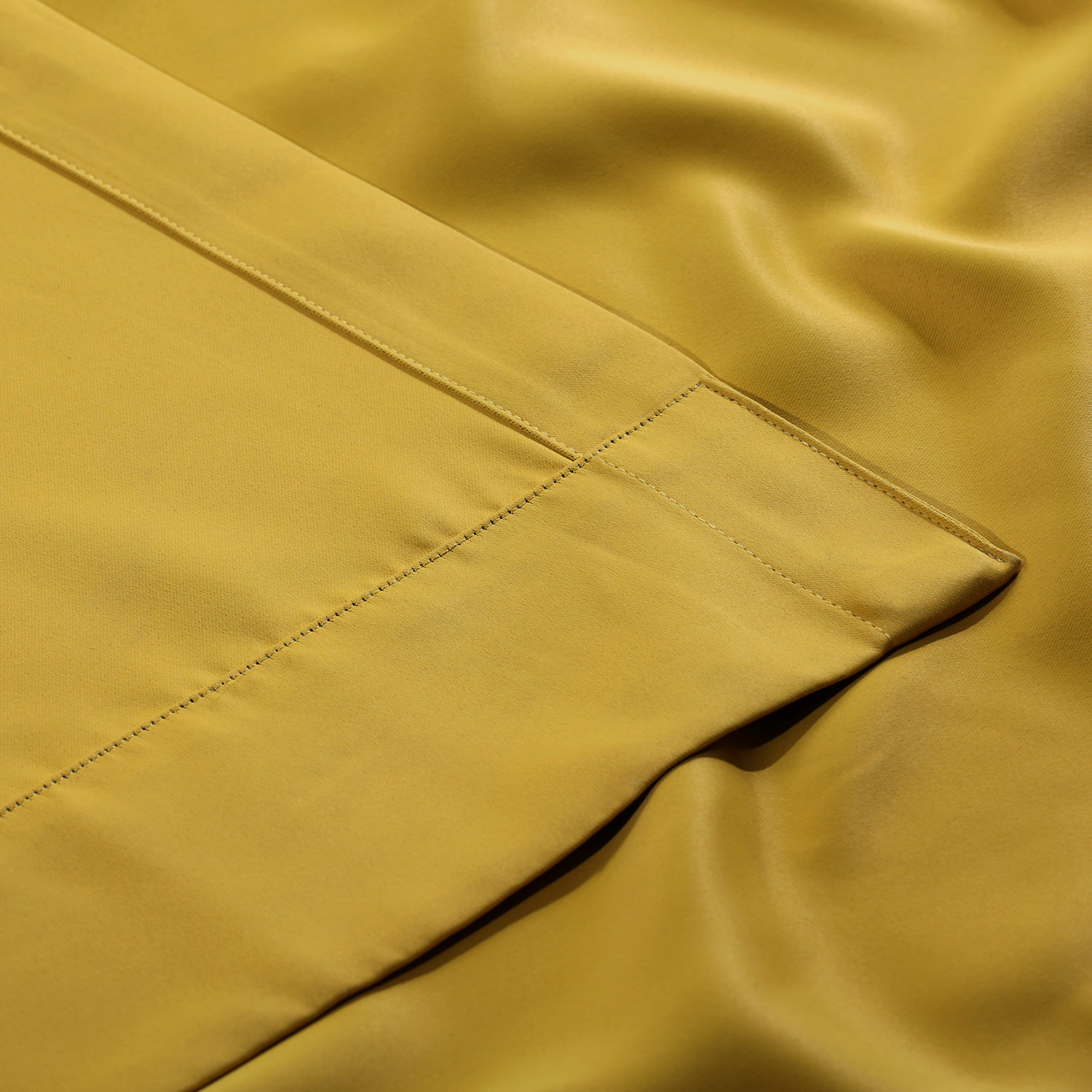 Solarium Yellow Blackout Curtain