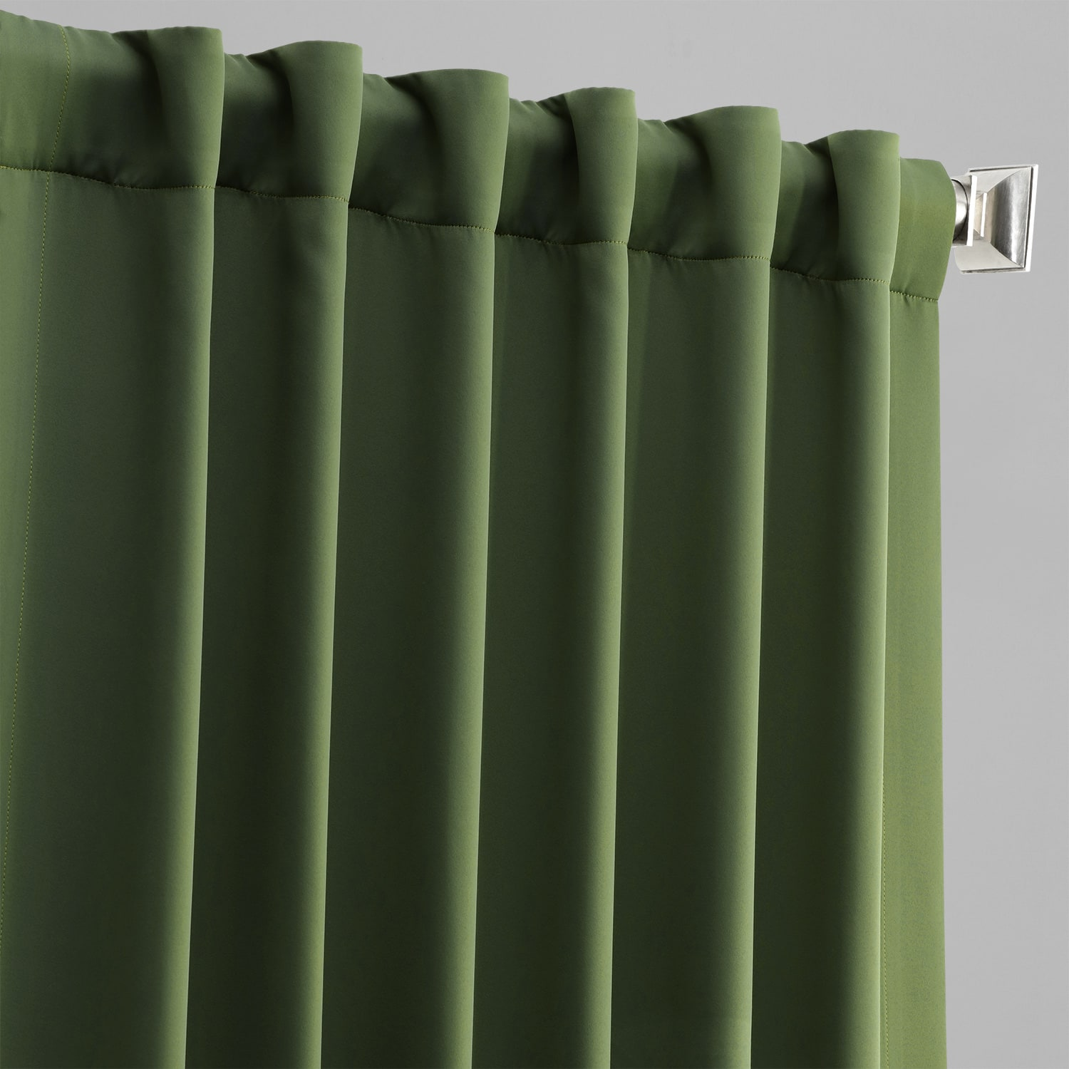 Oasis Green Blackout Room Darkening Curtain