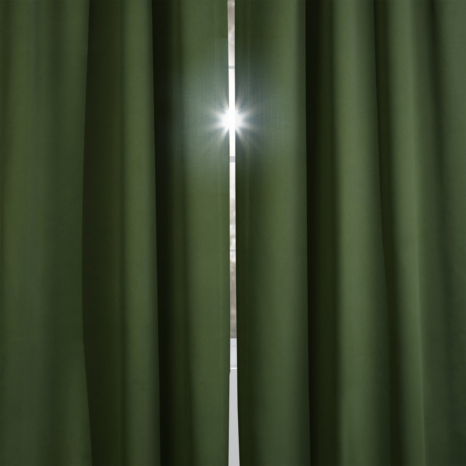 Oasis Green Blackout Curtain
