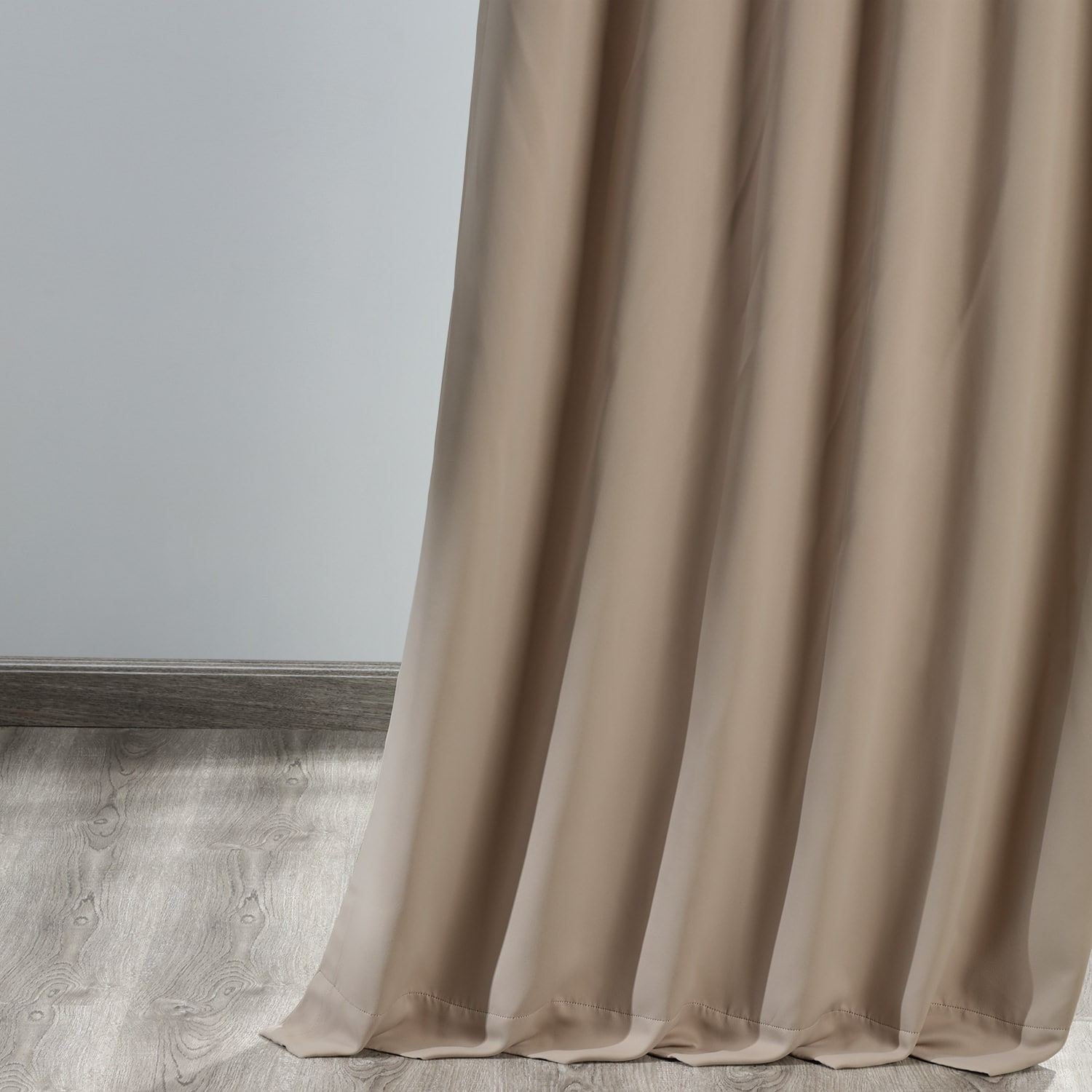 Banyan Brown Blackout Room Darkening Curtain