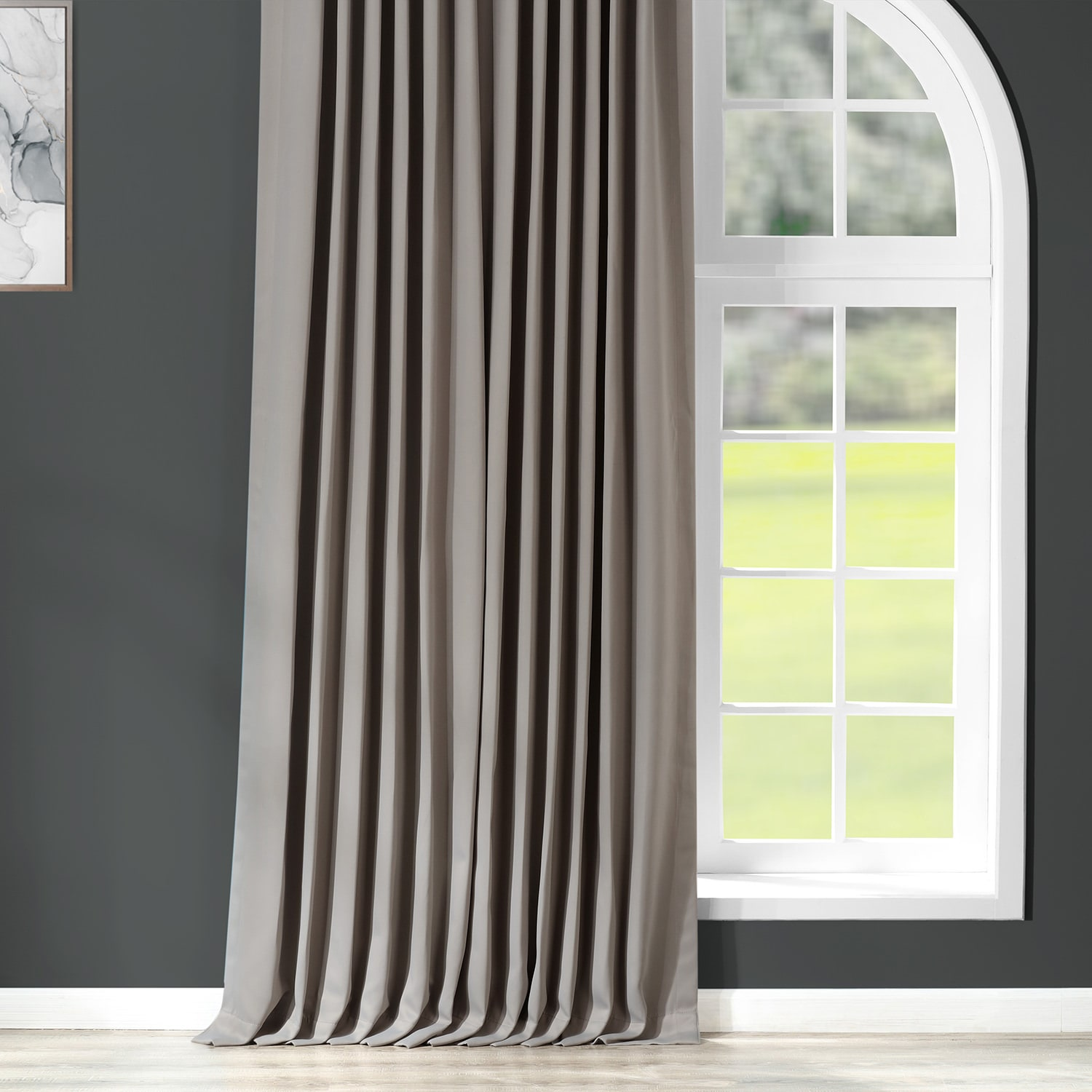 Sold Per Panel Extra Wide Solid Blackout Curtains