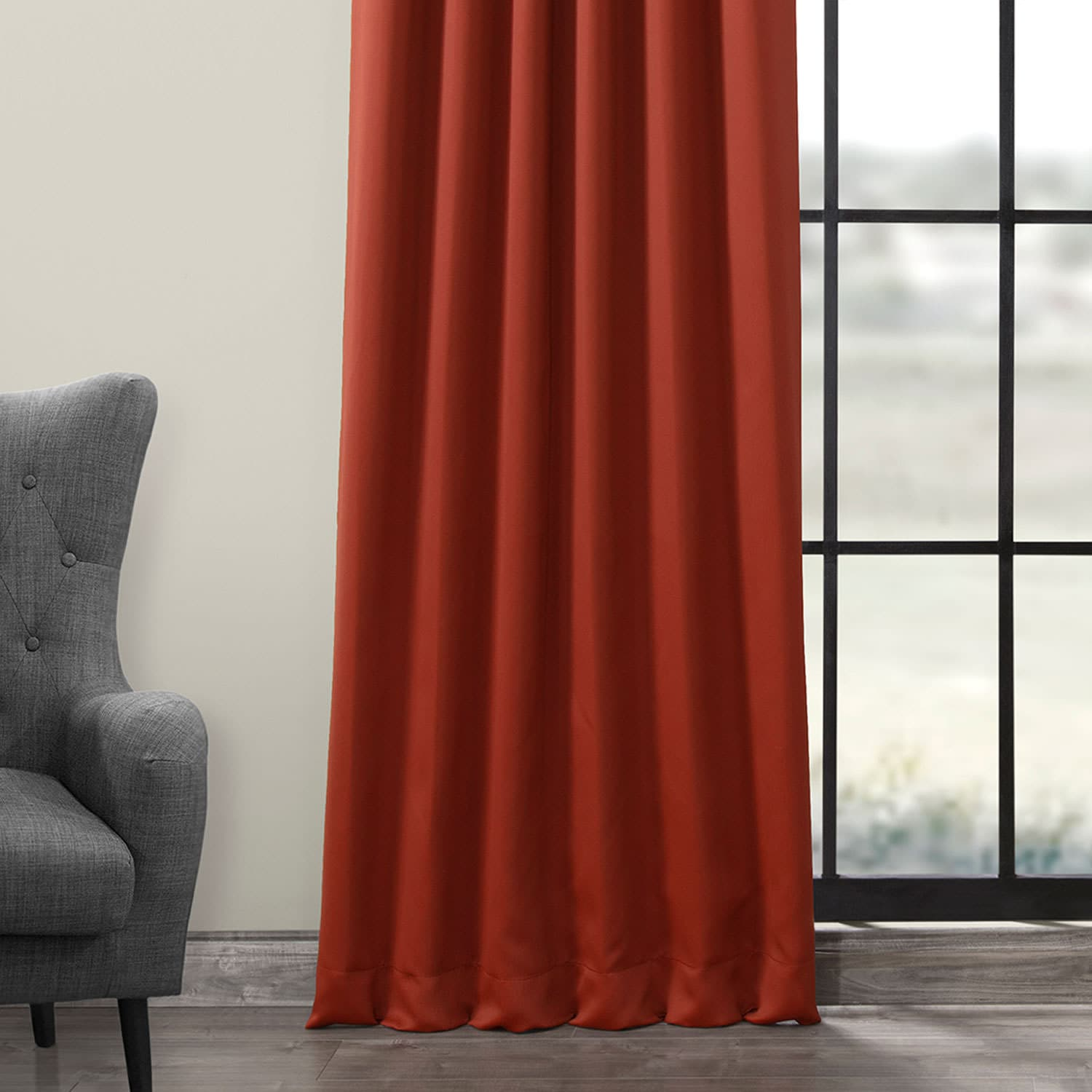 Spiced Berry Blackout Room Darkening Curtain