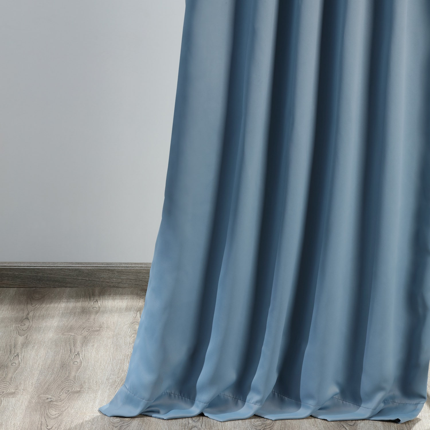 Poseidon Blue Blackout Room Darkening Curtain
