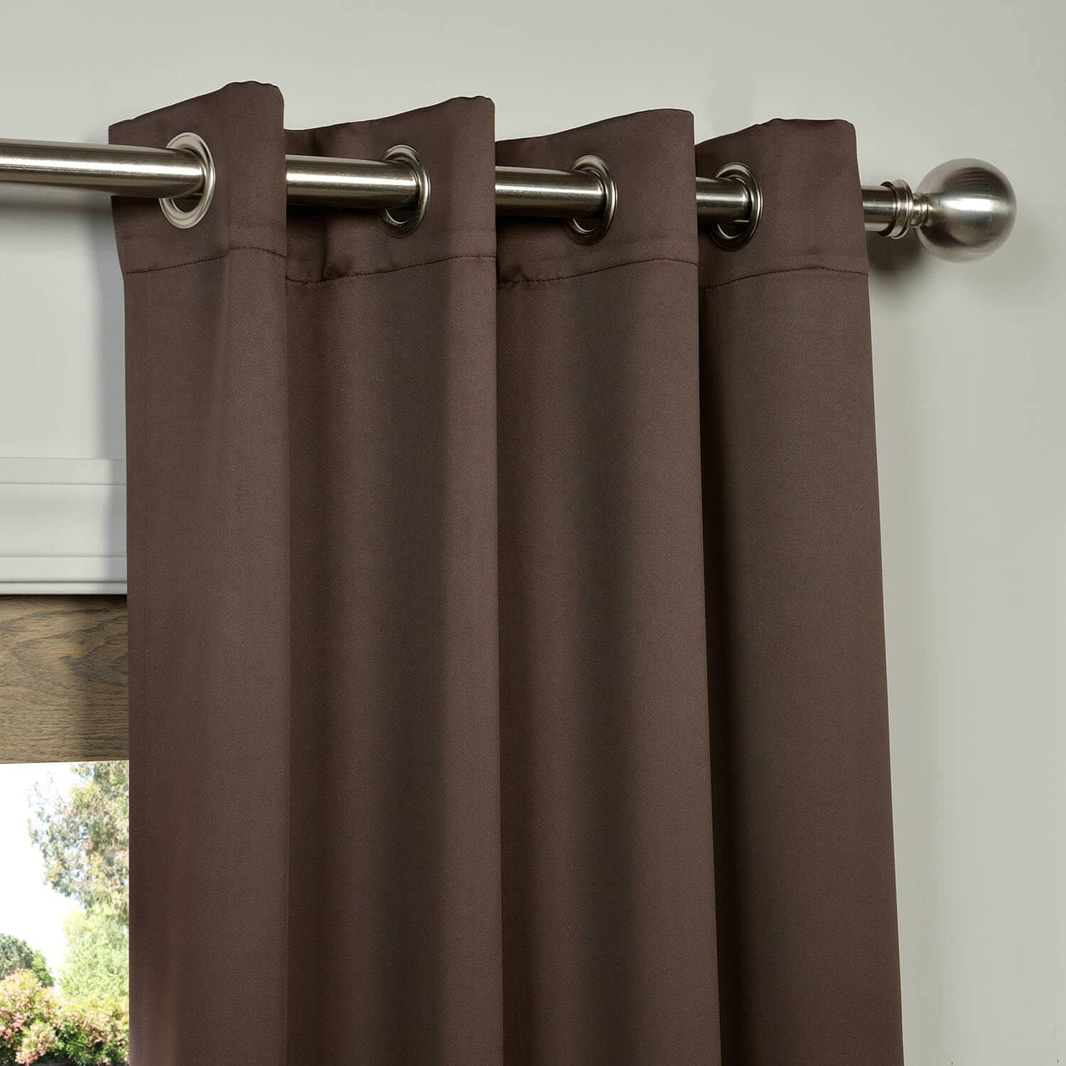 Java Grommet Blackout Room Darkening Curtain