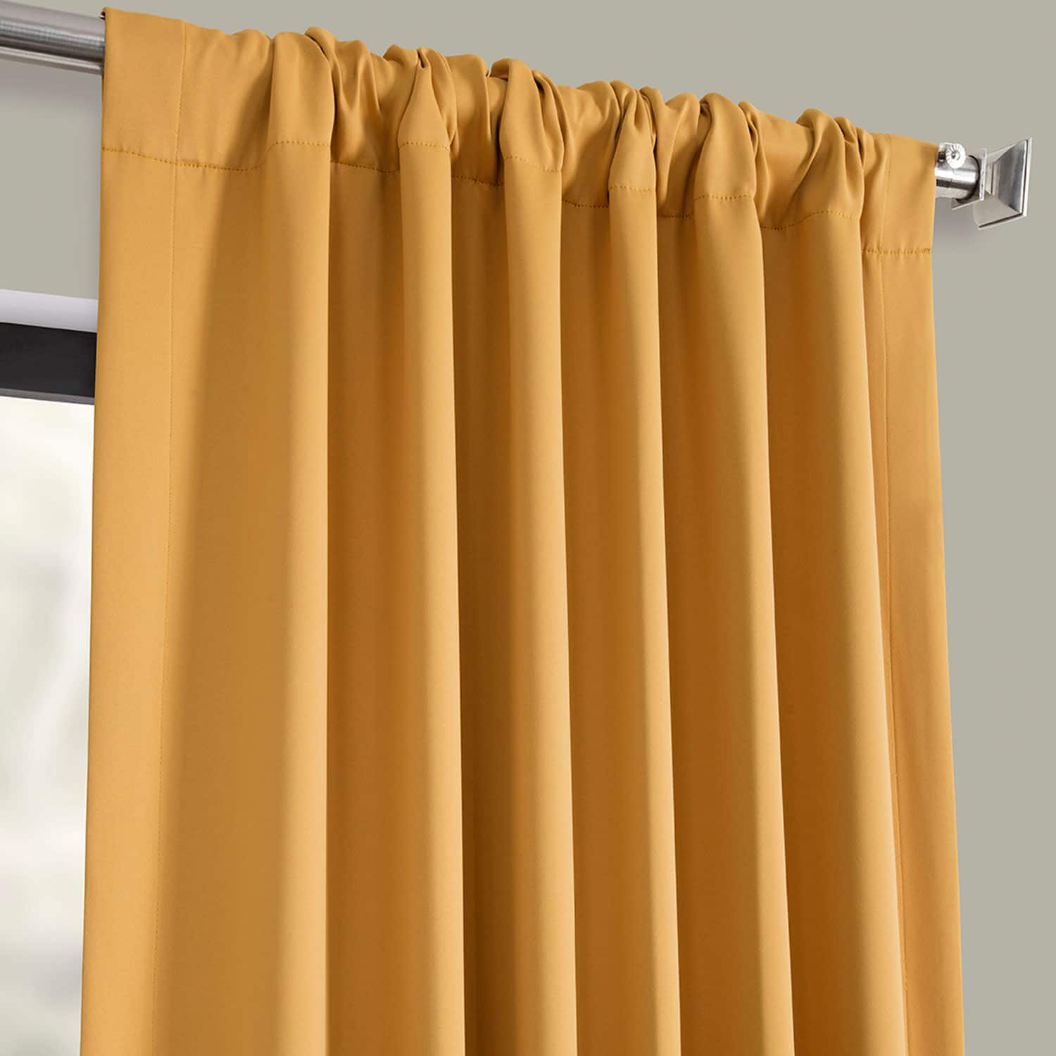 Marigold Blackout Room Darkening Curtain