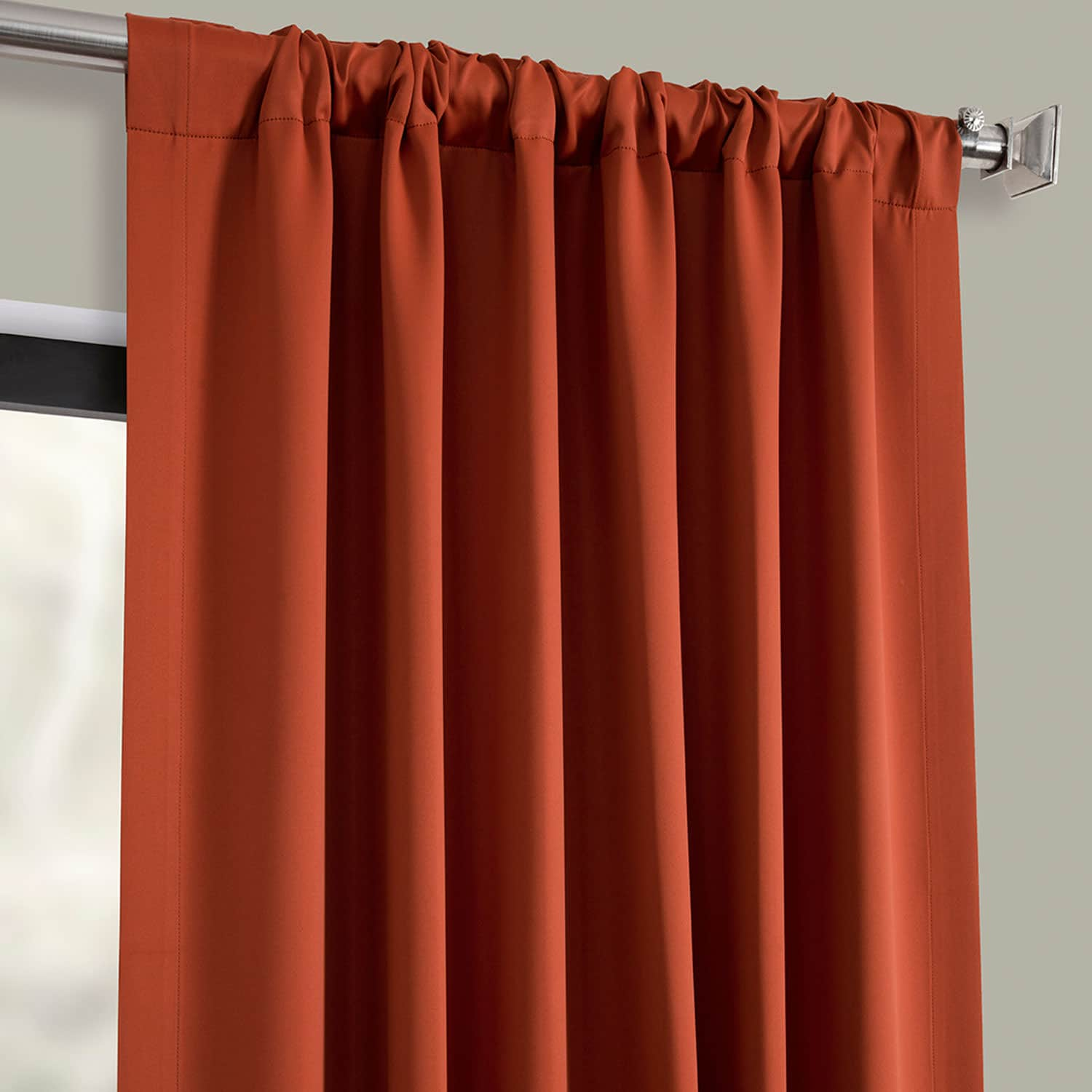 Blaze Blackout Room Darkening Curtain